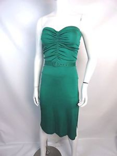 "Vintage 70's ""Climax"" Emerald Disco Tube Dress"