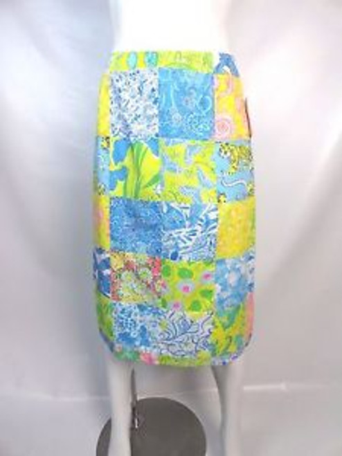 Vintage 70's Lilly Pulitzer Patchwork Skirt