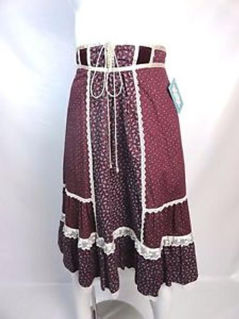 "Vintage 1970's ""Jessica's Gunnies"" Peasant Skirt"
