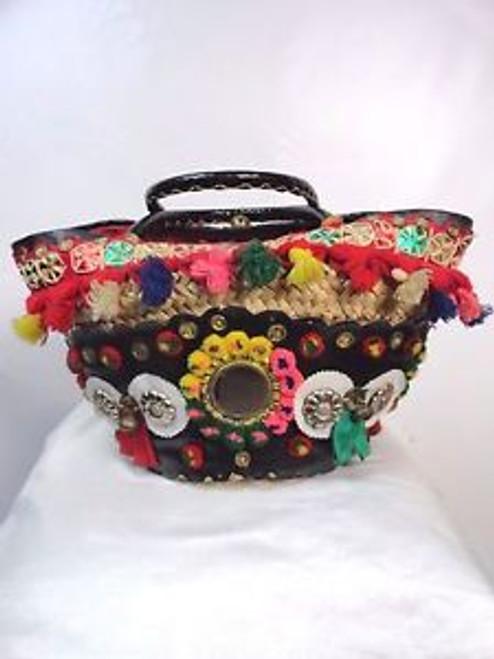 Indian Tuk Tuk Boho Bag SOLD