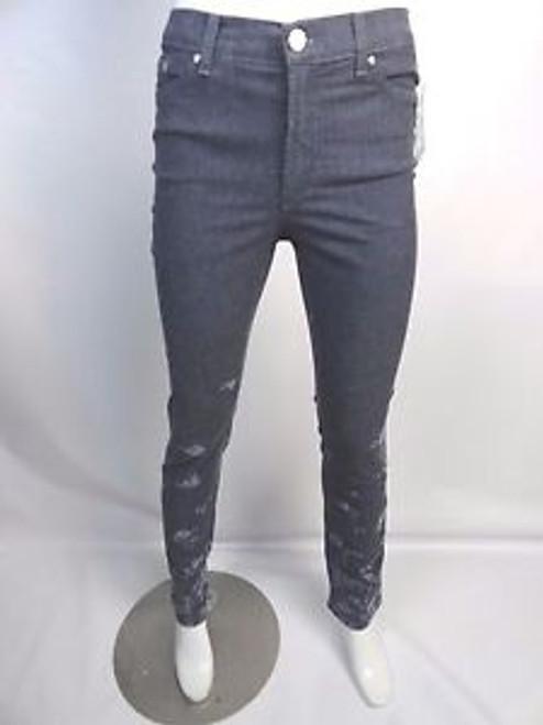 Vintage 90's Versace Jeans Couture Flower Print Denim