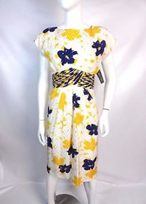 "Vintage 80's ""Raul Blanco"" Silk Floral Dress SOLD"