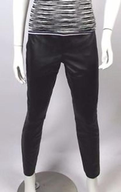 Vintage 1980s Black Leather Pants