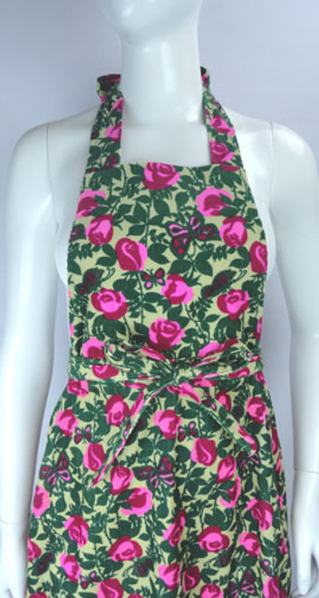 Vintage 1970s Lilly Pulitzer Convertible Wrap Skirt / Pinafore