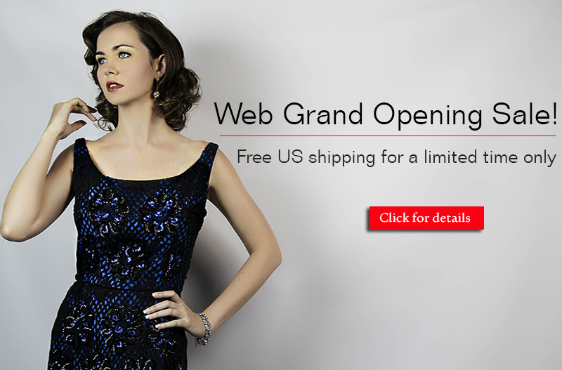 Grand web opening sale free US shipping