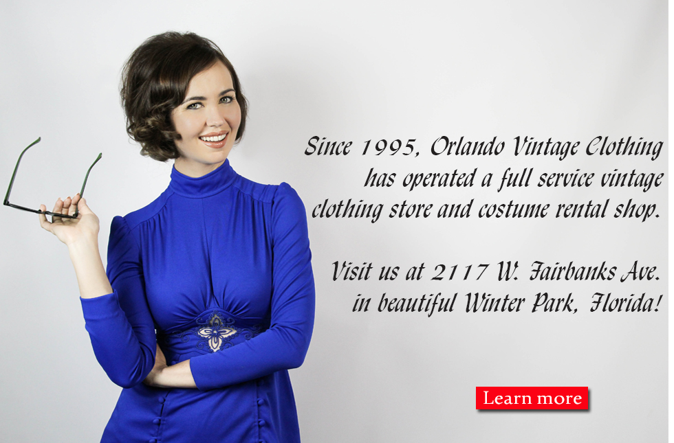 About Orlando Vintage Clothing and Costumes