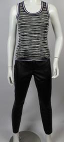 Women's Vintage 1980s Black Leather Pants