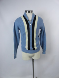 Men's Vintage 60's Baby Blue Knit Sweater