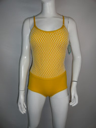 Vintage 60/70's Regal Mustard Swimsuit