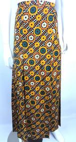 Vintage 1960s Yves Saint Laurent Rive Gauche Kaleidoscope Skirt