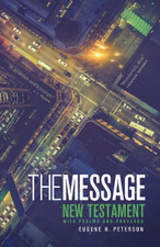 The Message - New Testament with Psalms and Proverbs (large)