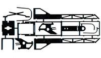 JDS Fiat Inline Drag Chassis Kit - JDS-2010