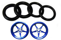 Pro-Track 3/4 x 1/16 x 1/8 wide Style I - Blue - PTC-411I-B