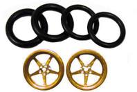 Pro-Track 3/4 x 1/16 x 1/8 wide Style I - Gold - PTC-411I-G