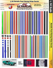 Ultracal H.O. Metallic Pearl Racing Stripes - MG-3107