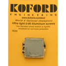 Koford 0-80 Aluminum Screws Box of 24 - KOF-M256