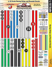 Ultracal 1/32 Racing Stripes & Round Numbers - MG-3303