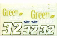 No 32 - 1/24 Greensmoke - Go Fast - GF-32G