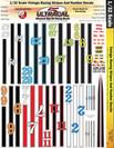 Ultracal 1/32 Vintage Racing Stripes & Numbers - MG-3321