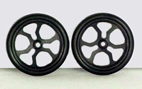"JDS 17"" Spider Fronts - Black - JDS-7020B"