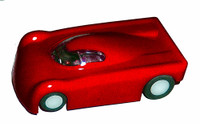 Wizzard Storm Extreme Car - Red - WIZ-SE01-R