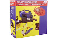 Testors Ultimate Airbrush Set with Compressor - TS-506545