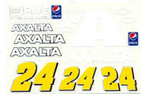 No 24 - 1/24 AXALTA Chevy - Go Fast - GF-24AXALTA