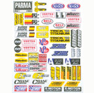 Parma RC Drag Stickers that could be used on 1/24 Cars - PAR-10626