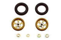 Pro-Track CNC Wheelie Bar Wheels - PTC-208J-G