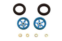 Pro-Track CNC Wheelie Bar Wheels - PTC-208I-B