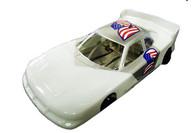 JK Nascar Rental Car - White - JK-2040732R