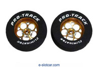 Pro-Track 1 1/6 x 1/16 x .250 wide Style J - Gold - PTC-4410J-G