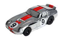 AFX Mega G Daytona Coupe #9 Chrome - AFX-70315
