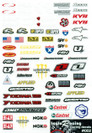 Taylo Racing Sponser Stickers #002 - TAY-002