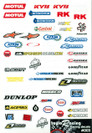 Taylo Racing Sponser Stickers #003 - TAY-003