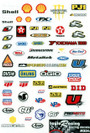 Taylo Racing Sponser Stickers #004 - TAY-004