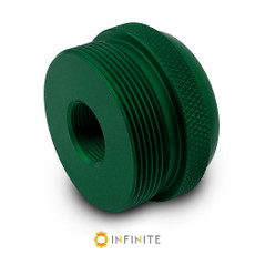 1/2-28 to D Cell Maglite Adapter - Green