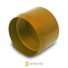 D Cell Maglite End Cap - Gold