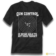 'Gun Control Is Being Able to Hit Your Target' Gun Rights Premium Tee