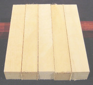 "American Holly Pen Blanks - 1"" x 1"" x 5 1/4"""
