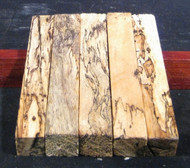 "Spalted Tamarind Pen Blanks - 3/4"" x 3/4"" x 5 1/4"""