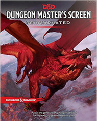 Dungeons & Dragons 5th Edition RPG: Dungeon Master's Screen - Reincarnated