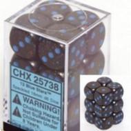 Chessex: Speckled Blue Stars 16Mm D6 Dice Block Item # CHX25738