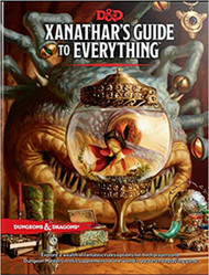 Dungeons & Dragons 5th Edition RPG: Xanathar's Guide to Everything (Hardcover)