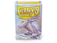 Dragon Shield Card Sleeves: Matte White (100)