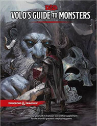 Dungeons & Dragons 5th Edition RPG: Volo's Guide to Monsters (Hardcover)