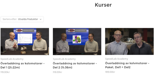 Nu släpper vi vår nya satsning på videokurser och samtidigt en ny hemsida!