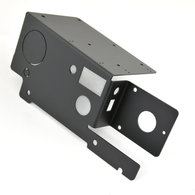 Power and Battery Disconnect Mount, bracket only, powder coated (BDM-8)