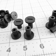 80 Series Plastic Step Nut- standard length (PSN-1)