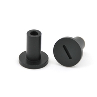 80 Series Plastic Step Nut- Black Extended (PSN-2)